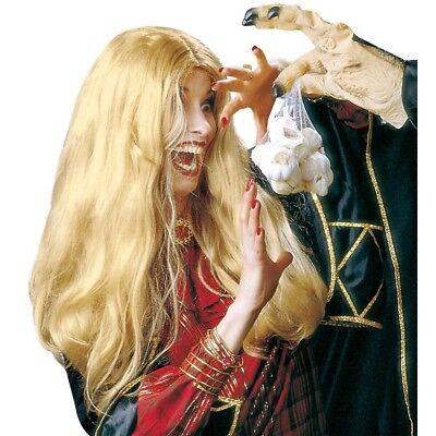 E # Halloween Karneval Zauberin Vamp Damen Kostüm Party 6034 (Blonde Halloween)