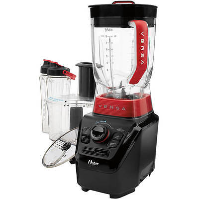 Oster BLSTVB-103-000 Versa 1100-watt Professional Blender 2 Go Cups Food Proces