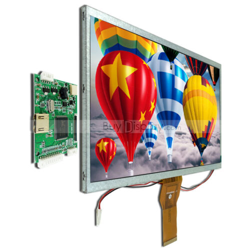 """10.1"""",10"""" inch TFT LCD Display w/ HDMI Controller/Driver Board for Raspberry PI"""