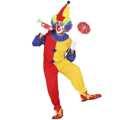 HERREN CLOWNKOSTÜM # Karneval Fasching Männer Clown Kostüm Harlekin Overall 0270 ()