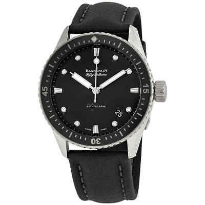 Blancpain Fifty Fathoms Meteor Automatic Men's Watch 5000-1110-B52A