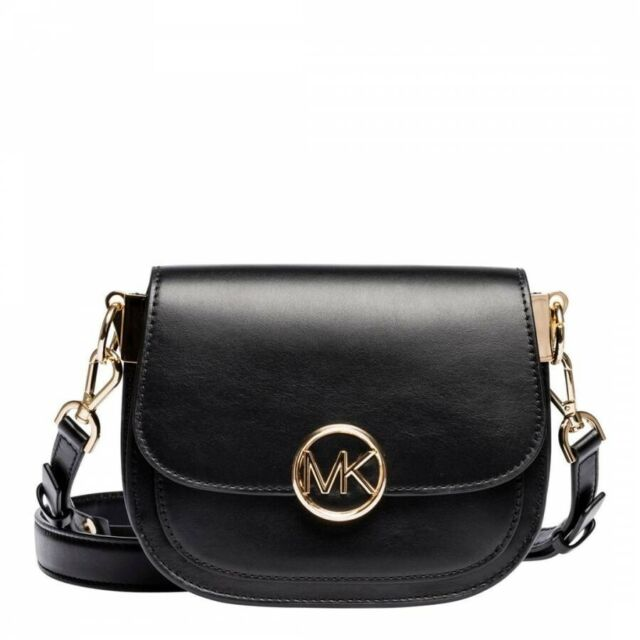 dd66b85147da Michael Kors Black Lillie Mini Saddle Bag - 100% Leather | in Islington ...