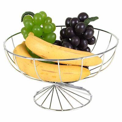 Bocadillos O Pan Verduras rosemaryrose Cesta De Frutas Met/álica Frutero 3 Pisos Soporte De Frutas con Cuencos Estantes para Fruta Taz/ón De Fruta para Conservan Frutas