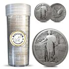 Silver Standing Liberty US Quarters (1916-1930) without Modified Item