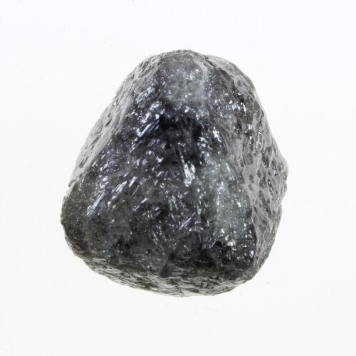 Graceful Light Gray Color 3.96 Carat FL Clarity Wonderful Natural Rough Diamond