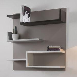 Libreria moderna con schienale myshelf mensole cameretta for Mensole per cameretta