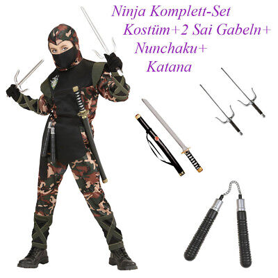 NDER Karneval Fasching Waffen Schwert Nunchaku Sai Dolch  N12 (Sai-dolch)