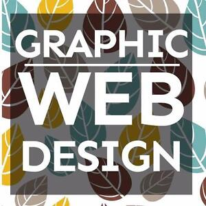 $55/hr Graphic and Website Design