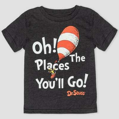 DR SEUSS OH THE PLACES YOU'LL GO SHIRT SIZE 18 MONTHS 2T 3T 4T NEW! - Dr Seuss Places You Ll Go