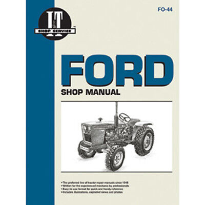 Service Manual Ford New Holland Tractor Fo-44 110011101200121013001310