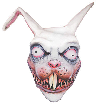 Frankenbunny Scary Rabbit Mask Great for Halloween Horror Fancy Dress Costume