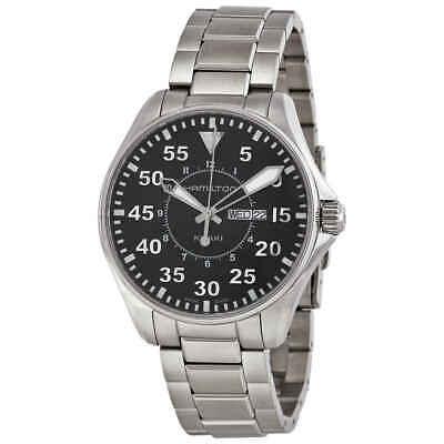 Hamilton Khaki Pilot Black Dial Men's Watch H64611135