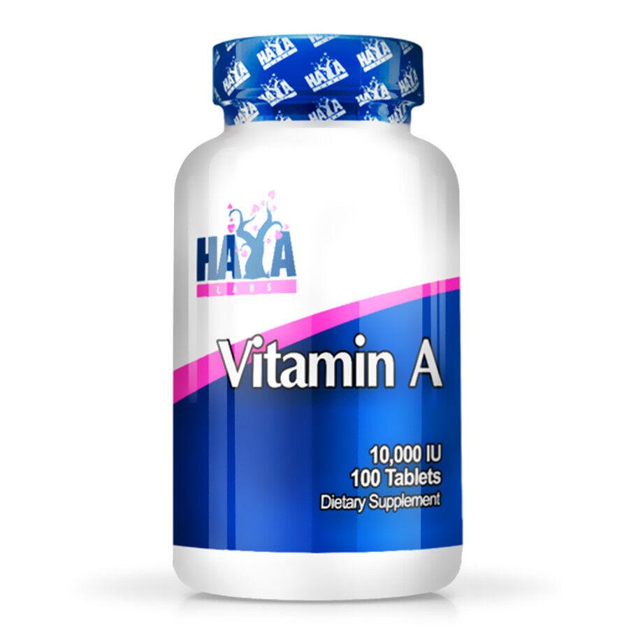 VITAMINA Haya Labs Vitamin A 10,000 IU 100 Softgels Vitamina A 0854822007439