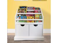 NEW Parker 2 drawer bookcase for children.RRP£279.