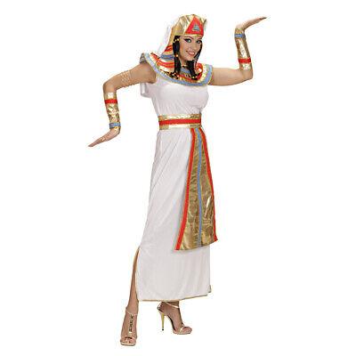 DAMEN CLEOPATRA KOSTÜM SET Karneval Kleopatra Ägypten Pharaonin Ägypterin Kleid