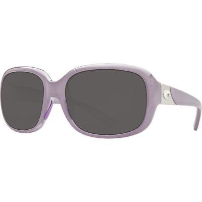 7e1c4c696209 New Costa del Mar Gannet Polarized Sunglasses Sea Lavender Grey 580P Women