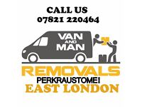 REMOVALS MAN AND VAN