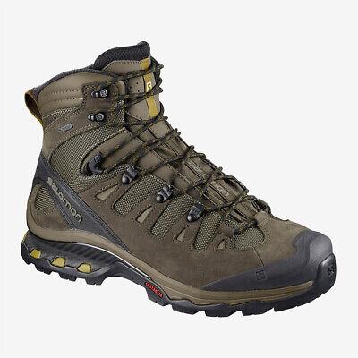 Salomon Quest 4D 3 GTX Mens Hiking Boots Shoes - Wren/Bungee Cord/Green Sulphur