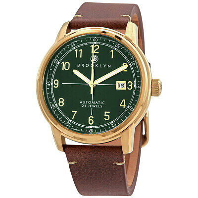 Brooklyn Watch Co. Gowanus Automatic Men's Watch 8600A9