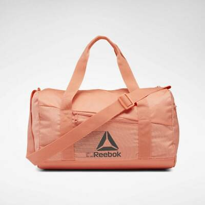 NEW Reebok Active Foundation Grip Duffel Stellar Pink Color Small With Tags NWT