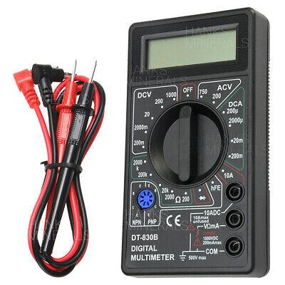 Digital Multimeter 7-function Ac Dc Voltage Volt 10 Amp Resistance Ohm Meter