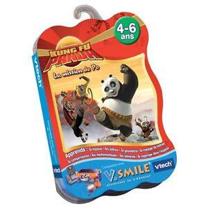 Jeu-V-SMILE-KUNG-FU-PANDA-La-Mission-de-Po-4-6-ans-Vtech-Vsmile-Disney