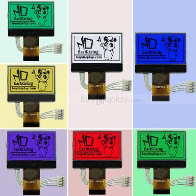 Rgb Backlight 1.8128x64 Lcd Module Graphic Glcd Cogspi Serialst7565p3v