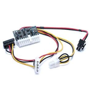 6 pin to 24 pin ATX SWITCH PICO PSU