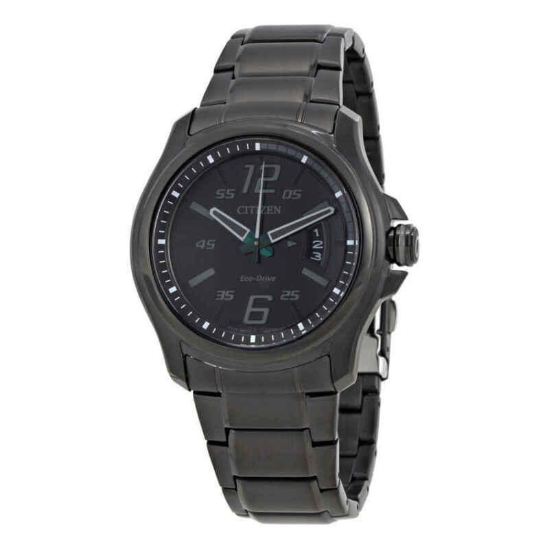 Citizen-HTM-Eco-Drive-Black-Dial-Men-Watch-AW1354-82E