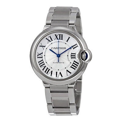 Cartier Ballon Bleu de Cartier 36mm Silver Dial Mens/Ladies Watch