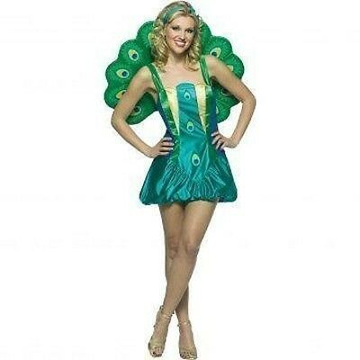 Rasta Imposta Womens Peacock Adult Costume - Rasta Woman Costume