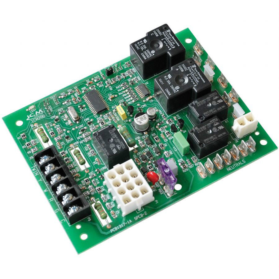 Icm Controls Furnace Control Board Replacement For Goodman Icm286 Ebay Com Pth Circuit Used In Amana Stock Photo