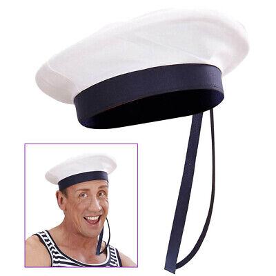 MATROSE HUT Karneval Fasching Party Seemann Marine Kostüm Mütze Deko Boot # 8683