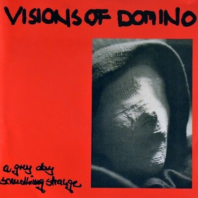 """7"""" VISIONS OF DOMINO A Grey Day / Something Strange TRAUM(A)FABRIK 1993 like NEW"""