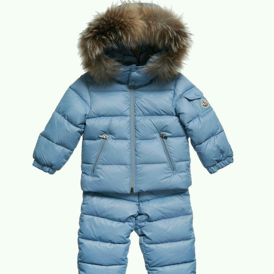 moncler snowsuit blue