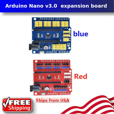 Arduino Nano V3.0 Io Expansion Board Micro Sensor Shield Uno R3 Leonardo Mini