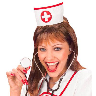 KRANKENSCHWESTER HUT # Karneval Fasching Haube Mütze Kostüm Arzt Doktor # - Krankenschwestern Hut Kostüm