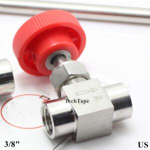 Needle valve Ball valve 3/8