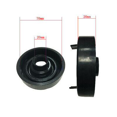 Pair 70mm Dust Cover Car Headlight Retrofitting Rubber Dustproof Seal Cap Cover