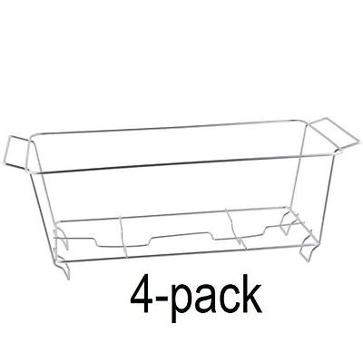 4 PACK Buffet Chafer Food Warmer Wire Frame Stand Rack Full Size Chafing Dish](Wire Chafing Dish)