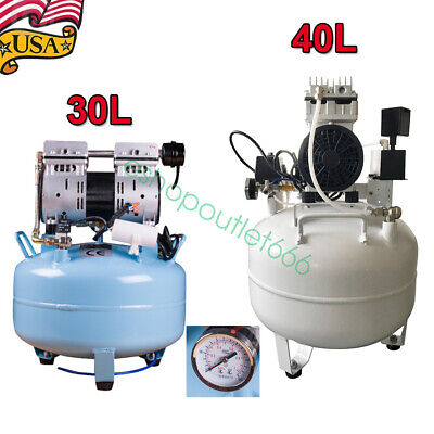 30l40l 550wdental Medical Noiseless Oil Free Oilless Air Compressor 0.8mpa