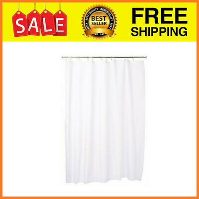 InterDesign Mildew-Free Fabric Shower Curtain, Various Sizes