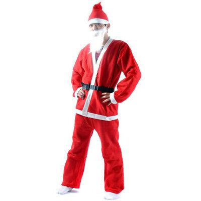 Weihnachtsmann Weihnachtskostüm Anzug für Erwachsene Kostüm für - China Mann Kostüm