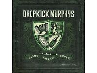 LESS THAN FACE VALUE 2 x Tickets for Dropkick Murphys - Alhambra - 27 June