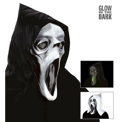 STER MASKE Halloween Scream Geistermaske Herren Kostüm Party (Halloween Kostüm Scream)