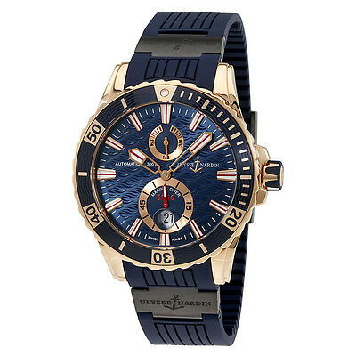 Ulysse Nardin Maxi Marine Diver Automatic Mens Watch 266-10-3C-93