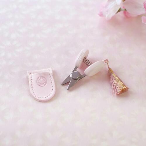 Cohana Sakura Mini Embroidery Scissors | Mini Thread Clipper | Made in Japan