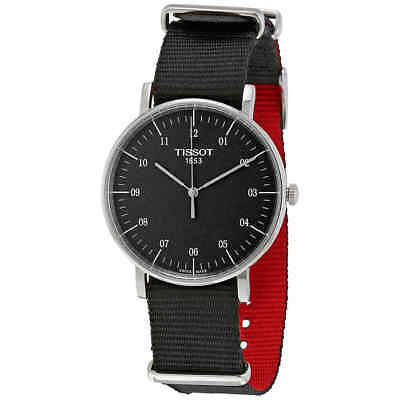 Tissot T-Classic Everytime Black Dial Men's Watch T1094101707700