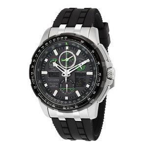 316d9faf7 Citizen Skyhawk A-T Chronograph Perpetual Men's Watch - Black, 47mm ...