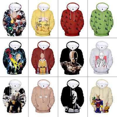 One Punch Man Hero Saitama Cosplay Kostüm Kapuzenjacke Kapuzenpullover Pullover
